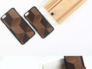 薄款原创拼接天然木质手机壳外壳iphone6/6S
