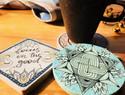 杯垫装饰|禅绕艺术实验室