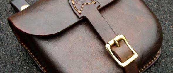 手工皮革教程:使用湿法成型(定型)手工制作一个皮革小包教程(第一部分)