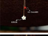 被樱花节遗忘的桃花源 柒言不语原创用花丝 珍珠南红设计
