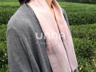 unna酝罗_四季_天然植物染 纯棉方巾 草木染手帕 围巾 长款 33*88