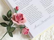原创立体刺绣复古玫瑰