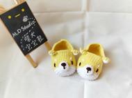 【原创纯手工定制】柴犬宝宝鞋/毛线鞋/学步鞋/小狗