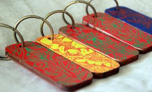 芒先生,手工钥匙扣,挂件,传统