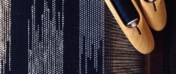 纽约布鲁克林手艺人@lineandstring 手工纺织过程欣赏
