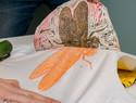 亚麻油毡/麻胶版画基础知识与简单版画雕刻教程