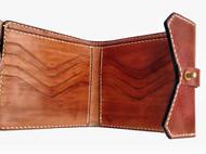 【木子加的手缝包】三折短夹