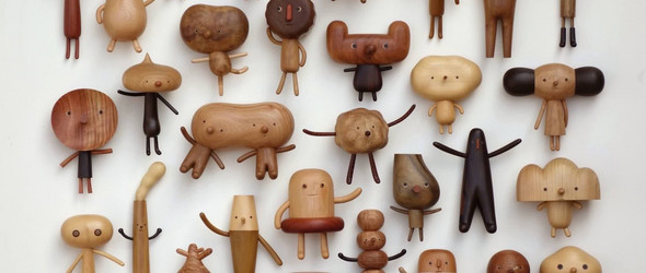 萌到心坎儿的手工木艺,带给你温暖的秋日时光   台湾木匠阎瑞麟充满童趣的木器与玩偶