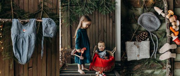 自然风|一 亲子服大包小裙子