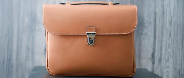 隐藏式手表保护盒的皮革公文包(Watch bag)制作过程