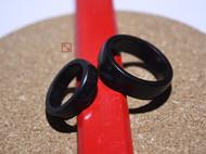 紫光檀木戒指 情侣戒指 尾戒 对戒 男女戒指