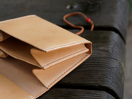 白馬手造 |手工制作皮具 零钱包/随身包/卡包 原色植鞣