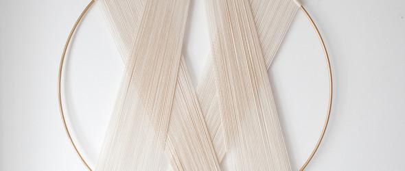 简洁优雅的几何绳编艺术,来自葡萄牙艺术家 Ana Morais