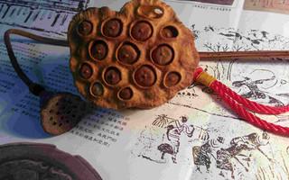 黄杨木纯手工活籽莲蓬雕刻教程