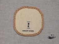 手工杯垫【鸢尾】,看看花,喝喝茶吧~