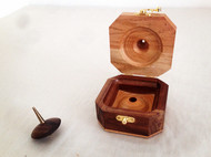 永恒陀螺-黄铜&黑胡桃-精美木盒包装-iDo手工实验室
