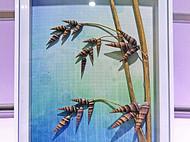 【贝画贝话】植物花卉贝壳画-贝壳立体画-贝壳相框-立体相框-家居装饰画-现代装饰画-8寸单幅