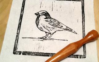 木雕版画教程:制作和印刷属于你自己的木板雕刻版画(Woodblock)diy制作教程