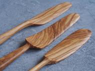 【之外】手工制意大利进口橄榄木黄油刀