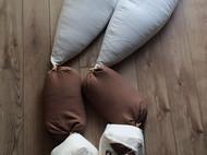 亚麻原创小狐狸抱枕