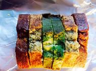 三色磅蛋糕
