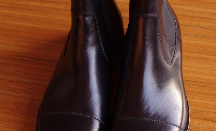 新款男靴 皮质内衬