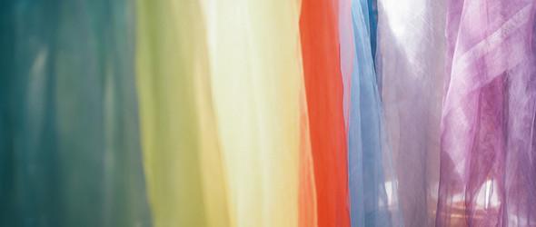 手工染色里的缤纷 |日本手工匠人sarasa yoshioka 与200历史的染色工场