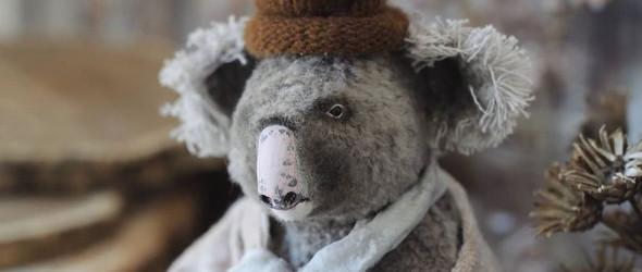 Old man   乌克兰玩偶艺术家Rina Bearmint 制作的动物玩偶