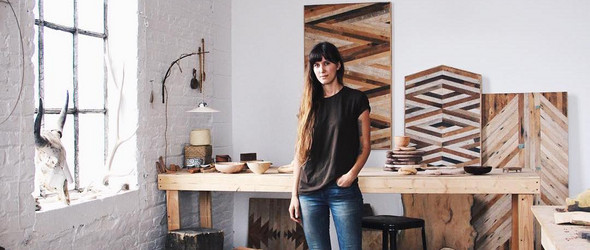 Ariele Alasko | 明明可以做高颜值的女艺术家,却选择了做一辈子的女木匠