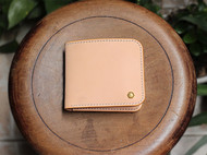 原创手工皮具 植鞣革钱包 手工男士钱包 原创钱包