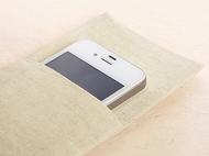 观照原创手工制作手机袋……