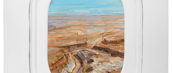 手绘飞机窗外的风景 | Jim Darling