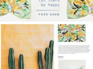 来自艺术家的礼物丨川朴原创《一叶知秋 黄绿》油画100%真丝斜纹绸大方巾