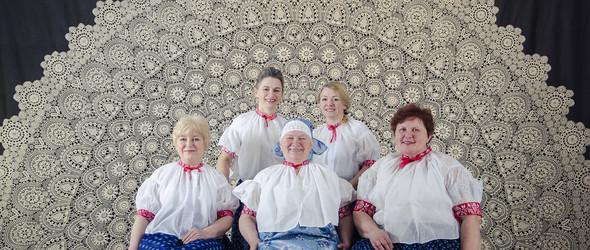 世界最大的Koniaków蕾丝与波兰传统蕾丝图案组图