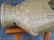 全竹编制 小竹笆篓 竹鱼篓  寻找逝去时光