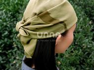 unna酝罗_藻鱼纹_天然植物染 纯棉方巾 草木染 手帕 围巾 头巾 58*58