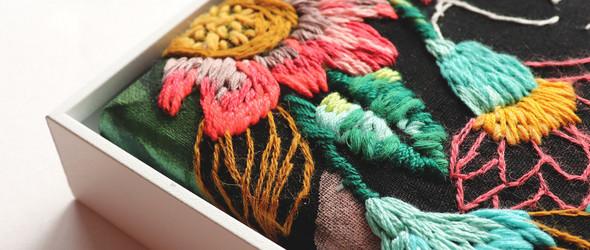 色彩缤纷的彩绘和拼接刺绣 | 智利艺术家 Katy Biele 作品精选