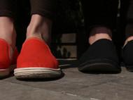 纯手工千层底布鞋