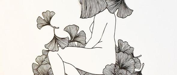 女性与自然之间的视觉诗歌 | 日本艺术家Kanako Abe的刻纸艺术
