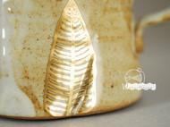 【金色叶脉】咖啡杯~水房子出品~手工制作~Yomi作品