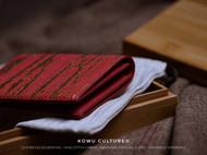 一枚红红火火的短夹
