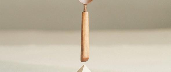 Belaya Hvoya:手工木勺和餐具