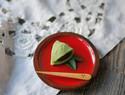 和菓子制作教程:二十四节气 谷雨 茶叶造型和果子