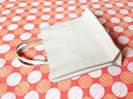 手工铅白色植鞣皮迷你手提袋