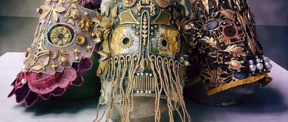@Damselfrau:夜店女神的面具奇缘,让面具散发出迷人的异国风情