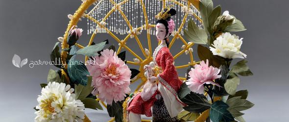 创作记   无声的洞见,唏嘘的人生 - 软雕塑创作之贾元春与秦可卿