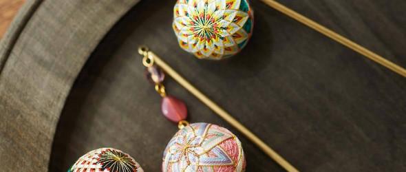 让传统工艺走入日常生活之中 | 日本手工作家 寺島綾子 的超迷你手鞠球和顶贯饰品