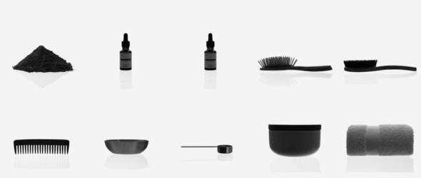 黑 白 灰 - 德国有机美妆品牌 Less® Lookbook