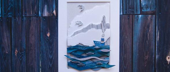 俄罗斯设计师 Mary Komary 的立体纸雕