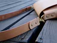 【白馬手造】斜挎包 原色植鞣 手工皮具